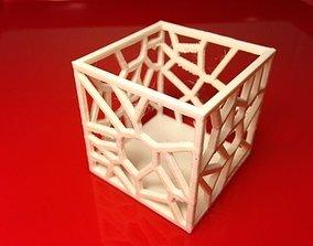 3D print model Voronoi box tester