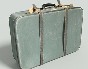 3D model Vintage Suitcase Retro Valise