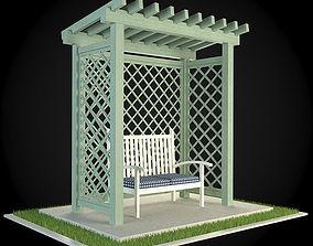 3D model Pergola patio