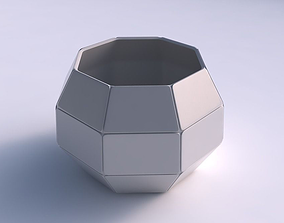 Bowl spheric with huge plates 3D printable model