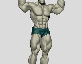 Body Builder Statue N 4 3D print 3D model