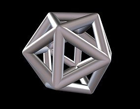 3D printable model 013 Mathart - Platonic Solids - 4