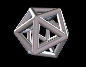3D printable model 013 Mathart - Platonic Solids - 4