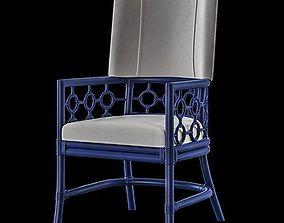 3D David Francis Furniture - Carlton Dining Armchair
