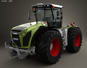 Claas Xerion 5000 Trac VC 2014 3D model