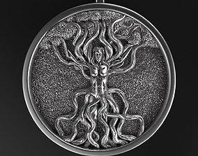 3D printable model Celtic tree of life vol1 Pendant