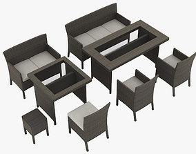3D model Patio Furniture