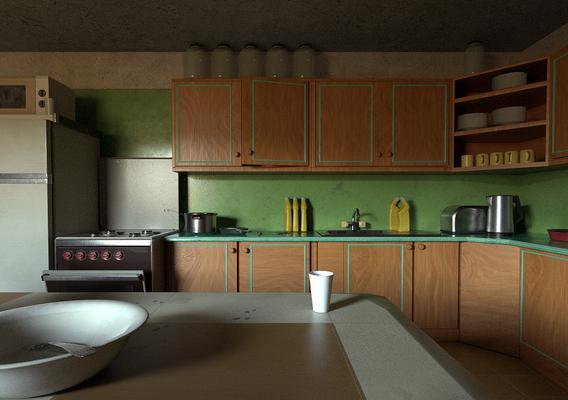 Ussr kitchen