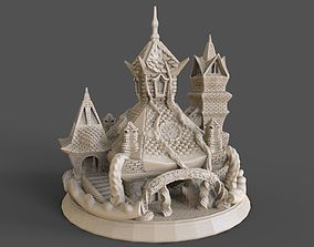 SACRED TEMPLE or TREE HOUSE 3D print model