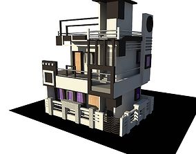game-ready Indian 3D Home
