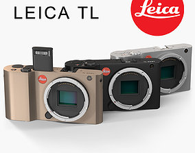 Leica TL Body mirrorless digital camera 3D model