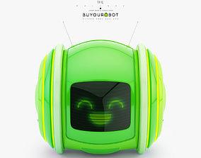3D Cute rolling bot toy IX