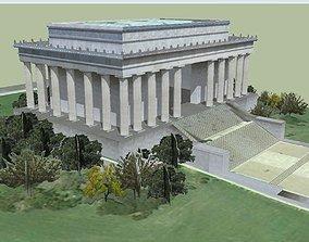 3D model Lincoln Memorial