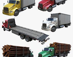 3D model Kenworth trucks