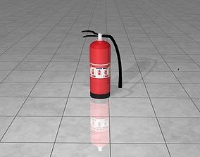 Fire Extinguisher Cylinder 3D model