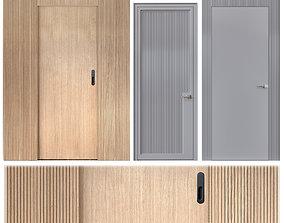 Corrugated door 3D