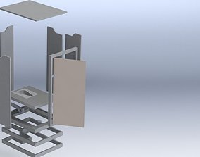 Rural Easy to Assemble Lavatory 3D model