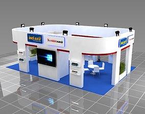 3D model Fair Company Stand 10