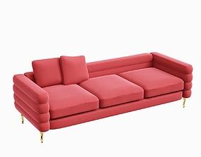 3D Boutique Botero new MOOI red sofa