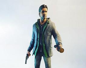Alan Wake statue 3D print model