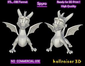 Spyro - 3D Printable Model