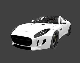 3D Jaguar F-type Coupe exterior