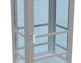 Savaria V150 lift engineering 3D model
