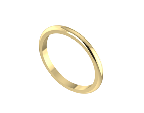 Simple rounded ring band model 147 variations