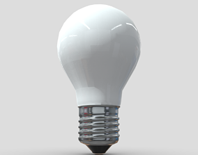 3D model VR / AR ready Light Bulb