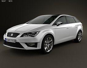 3D Seat Leon wagon 2013