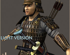 3D model Samurai Hero Light Version
