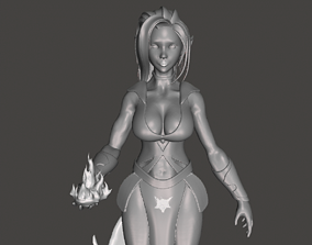 character 3D printable model Fairy
