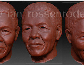 nelson Nelson Mandela 3D print