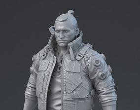 Jackie Welles 3D print model