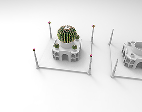 3D printable model Mini Taj Mahal Pot