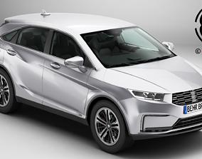 Generic SUV 3 3D model
