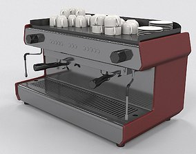 industrial 3D Coffee Machine