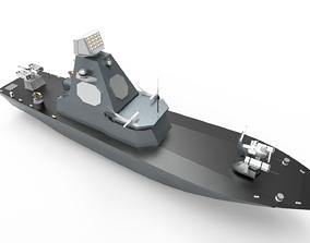 3D Unmanned surface vehicles USV