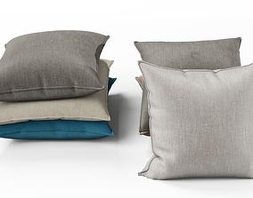 3D model Pillows set 02