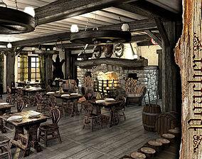 3D model Poacher banquet restaurant
