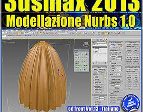 3ds max 2013 Modellazione Nurbs vol 13 cd