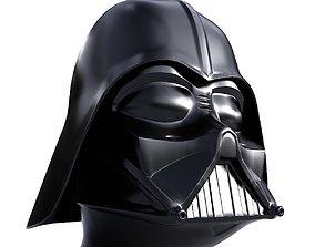 Darth Vader Helmet 3D asset