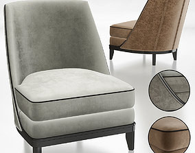 NORMANDIE SLIPPER CHAIR 3d model game-ready