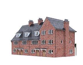 English Brick House 07 3D asset