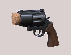 Plug pistol of Harley Quinn firearm 3D printable model