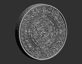 3D printable model Aztec Calendar Mold