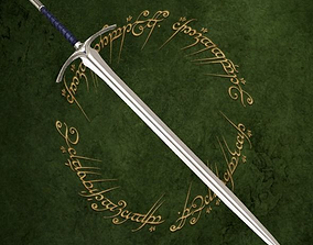 Glamdring sword 3D model