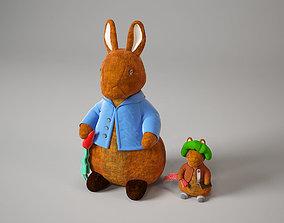 rabbit toy MiniMe 3D model