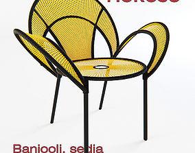 3D Moroso - Banjooli chair