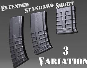 3D model Ammunition Magazine - Clip - Weapon Attachment -